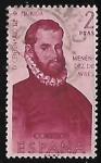 Stamps : Europe : Spain :  Forjadores de America - Menéndez de Avilés
