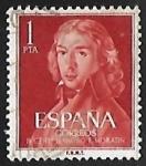 Stamps United States -  II centen. del nacimiento de Leandro Fernandez de Moratin
