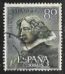 Sellos de Europa - España -  III centenario de la muerte de Velazquez