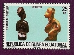 Sellos de Africa - Guinea Ecuatorial -  Tiempo de cultura - arte africano
