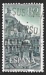 Stamps Spain -  Monasterio del Escorial - Patio de los Evangelistas