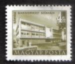 Sellos de Europa - Hungría -  Edificios del plan quinquenal en Budapest