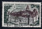 Stamps France -  Castillo de Bazoches