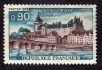 Stamps of the world : France :  Castillo de GIEN