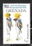 Sellos del Mundo : America : Granada : 667 - Bicentenario de la Independencia de USA, Escopeteros de 1780