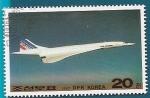 Sellos de Asia - Corea del norte -  Concorde - Primer vuelo Comercial - Air France