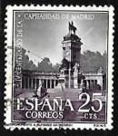 Sellos de Europa - España -  IV centenario de la capitalidad de Madrid - Monumento de Alfonso XII