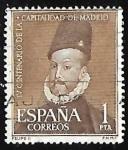 sellos de Europa - España -  IV centenario de la capitalidad de Madrid - Retrato de Felipe II