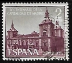 Stamps of the world : Spain :  IV centenario de la capitalidad de Madrid - Casa de la Villa
