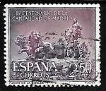 Sellos del Mundo : Europa : España :  IV centenario de la capitalidad de Madrid - Fuente de Cibeles