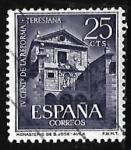 Stamps Spain -  IV centenario de la reforma Teresiana - Monasterio de San Jose Avila