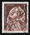 Sellos de Europa - España -  IV centenario de la reforma Teresiana - Santa Teresa