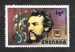 Sellos del Mundo : America : Granada : 723 - Alexandre Graham Bell