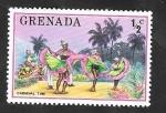 Sellos del Mundo : America : Granada : 653 - Carnaval