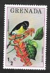Stamps Grenada -  646 - Ave coereba flaveola