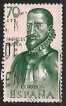 Stamps : Europe : Spain :  Forjadores de America - Gonzalo Jimenes Quesada