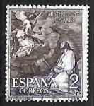 Stamps Spain -  Misterios del Sto. Rosario - Oracion en el huertp