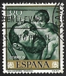 Stamps Spain -  Jose de Ribera