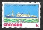 Stamps Grenada -  710 - Barco M.V. Federal Palm