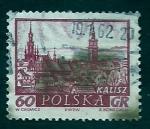 Sellos de Europa - Polonia -  Vista de Kalisz