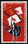 Stamps : Europe : Spain :  COL-ESTABLECIMIENTO EN LA FLORIDA (1565-1965)
