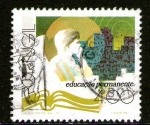 Stamps : Europe : Portugal :  Educación permanente
