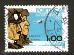 Stamps : Europe : Portugal :  Travesia aérea del Atlántico