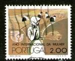 Stamps : Europe : Portugal :  Año internacional de la mujer