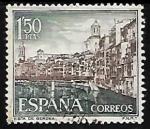 Sellos de Europa - España -  Paisajes y monumentos - Gerona