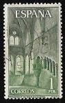 Sellos del Mundo : Europa : España :  Monasterio de Santa Maria de Huerta - Cenobio