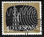 Sellos del Mundo : Europa : España :  XXV años de Paz Española - Telecomunicaciones