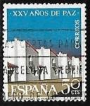 Sellos del Mundo : Europa : España :  XXV años de Paz Española - Nuevos poblados