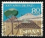Sellos del Mundo : Europa : España :  XXV años de Paz Española - Repoblacion forestal
