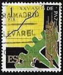 Sellos de Europa - España -  XXV años de Paz Española - Desarrollo de la producción