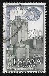 Stamps Spain -  Feria Mundial de Nueva York - Castillo de la Mota