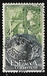 Sellos de Europa - España -  Dia mundial del sello 1964