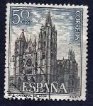Stamps Spain -  Catedral de Leon
