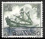 Sellos de Europa - España -  Homenaje a la Marina Española - Galera