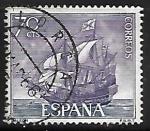 Stamps : Europe : Spain :  Homenaje a la Marina Española - Galeon