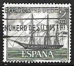 Stamps Spain -  Homenaje a la Marina Española -