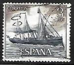 Sellos del Mundo : Europa : España : Homenaje a la Marina Española - Destructor