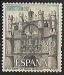 Sellos de Europa - España -  Serie Turística - Arco de Sta. Maria (Burgos)