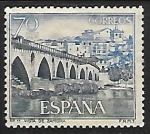Sellos de Europa - España -  Serie Turística - Vista de Zamora