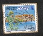 Sellos de Europa - Isla de Jersey -  Arecifes Costeros