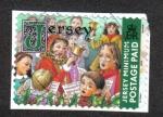 Sellos del Mundo : Europa : Isla_de_Jersey : Navidad 2001