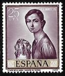 Stamps : Europe : Spain :  Romero de Torres -