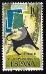 Sellos de Europa - España -  Dia mundial del sello 1965