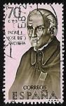 Sellos de Europa - España -  Forjadores de América - Padre Jose de Anchieta
