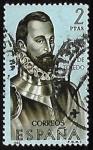 Stamps Spain -  Forjadores de América -Fradique de  Toledo
