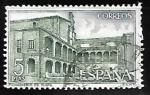 sellos de Europa - España -  Monasterio de Yuste - Claustro de Novicios